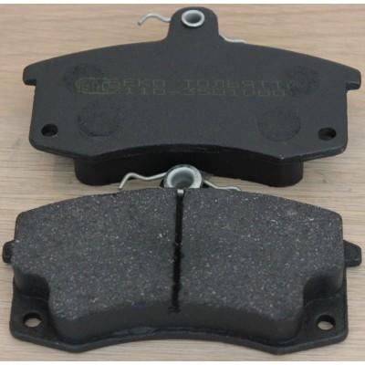 Тормозные колодки дискового тормоза 2110-3501080