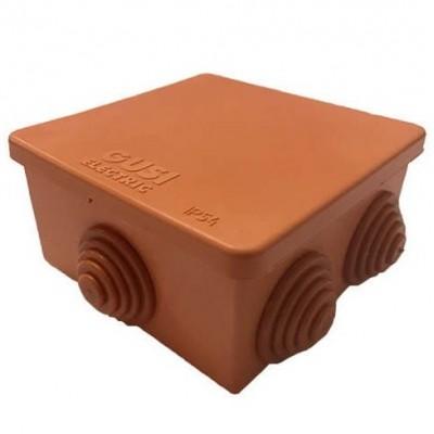 Коробка распределительная Gusi С3В76 Нг Евро оранжевая IP54 70х70х40 мм