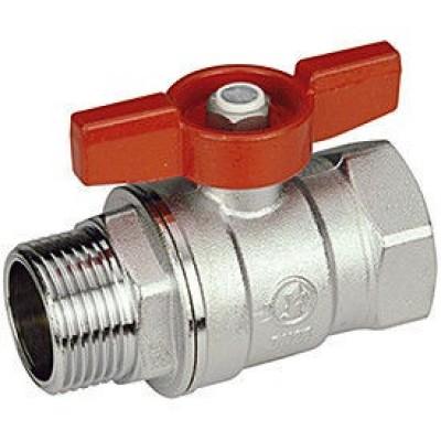 Кран шаровой Giacomini R254X002 стандартнопроходной латунный