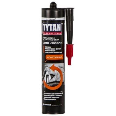 Герметик каучуковый Tytan Professional для кровли красный 310 мл