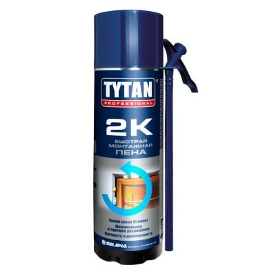 Пена монтажная Tytan Professional 2К быстрая 400 мл