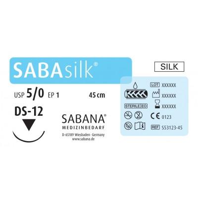 Шовный материал Sabana Medizinbedarf Sabasilk S-33182-45