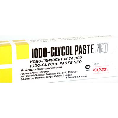 Паста Сонодент Йодо-гликоль, шприц 5г