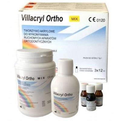 Пластмасса Villacryl Ortho Mix набор, Zhermapol