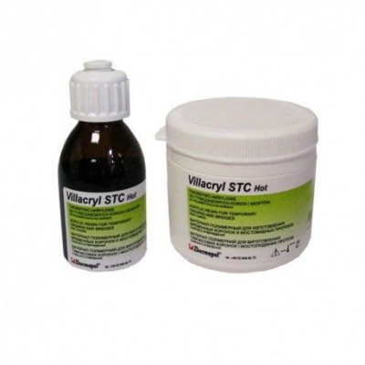 Пластмасса Villacryl STC Hot цвет A1, 80 г порошка, 40 мл