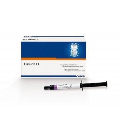 Фиссурный герметик Fissurit FХ, 2х2,5г