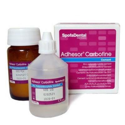 Цемент Adhesor Carbofine - цемент, 80г+40мл
