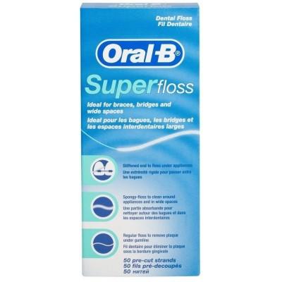 Зубная нить ORAL-B Супер флосс