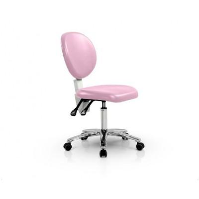 Стул врача Siger цвет розовый