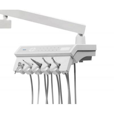 Стоматологическая установка Siger U200 нижняя подача, эжекторного типа, цвет кобальтовый
